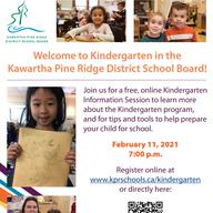 Virtual Kindergarten Information Session - Feb 11